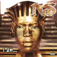 Nas - I Am.... [New Vinyl LP] Explicit, 140 Gram Vinyl, Download Insert