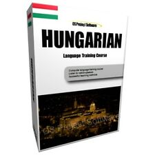 LEARN TO SPEAK HUNGARIAN LANGUAGE TRAINING COURSE PC DVD NEW