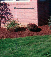 NEW Garden Metal Yard Stake Stand Flag Banner Pennant
