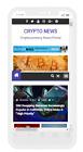 Crypto News Website +Live Cryptocurrency Prices Affiliate Income Hosting + Setup