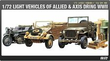 Academy 1/72 Light Vehicles of Allied&Axis During WWII Plastic Model Kit 13416