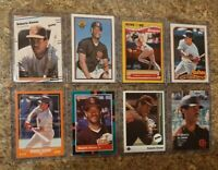 (8) Roberto Alomar 1988 1989 Score Fleer Donruss Upper Topps Rookie card lot RC