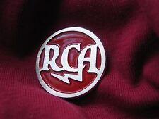 RCA brass logo badge 35mm