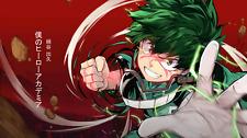 Anime Boku No Hero Academia Izuku Midoriya Silk Poster Wallpaper 24 X 13 inch