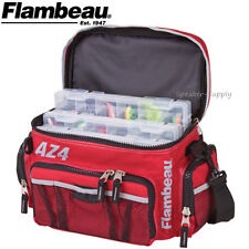 Flambeau Soft Tackle Box Bag System Top Load AZ4 w/ Containers Fishing 6106TB