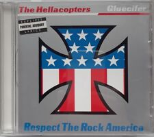 Hellacopters Gluecifer Respect Rock America CD Man's Ruin Garage OOP Rare Garage