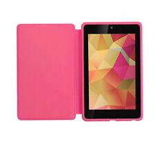 Original Asus Google Nexus 7 (2012) Full viajes Estuche/cubierta vendedor Reino Unido (rosa)