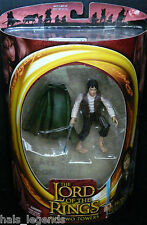 Lord of the Rings The Two Towers FRODO w/Light-up Sting Sword New! Rare!