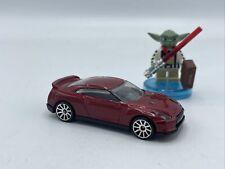 Hot Wheels 2009 Nissan GT-R First Edition Maroon JDM Import Rare HTF Loose Car