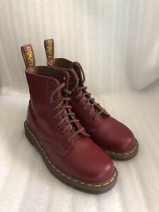 Dr. Martens 1460 Quilon OXBLOOD in  Rot / Red Gr. 39.5 UK 6.5 Made in England