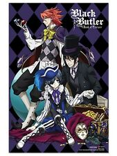 BLACK BUTLER ~ BOOK OF CIRCUS TRIO ~ 24x36 ANIME POSTER ~ NEW/ROLLED!