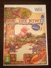 IVY THE KIWI jeu Nintendo WII PAL FRANCAIS  ++ 100% NEUF Blister ++ SONIC