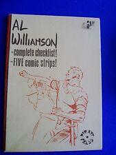 Al Williamson complete checklist, & five comic strips: US fanzine 1974.