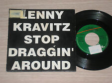 "LENNY KRAVITZ - STOP DRAGGIN' AROUND - 45 GIRI 7"" PROMO SPAIN"
