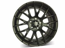 4X 17 INCH MATT BLACK Wheel For Civic,Corolla,WRX,Impreza,most 4 or 5 stud Cars!