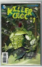 DC Comic NEW 52 7.3 3D  KILLER CROC batman  justice league  VFN+