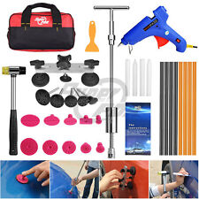 From US Paintless Dent Repair Removal PDR Tools Slide Hammer T Bar Dent Puller