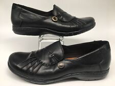 Cobb Hill by New Balance Black Leather Slip On Comfort Loafers Women's Size 7M