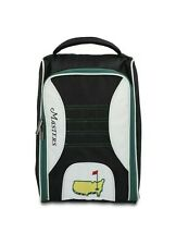 2021 Masters Augusta National Golf Club Lined Shoe Bag Black White New