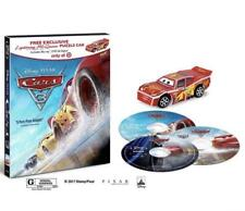 Cars 3 bluray dvd digital target exclusive lightning McQueen puzzle car...
