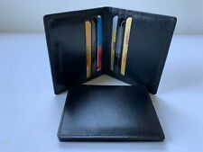 Genuine Leather Real Leather Slim Wallet 6 Credit Card Holders