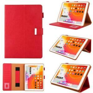 Smart Flip Leather Cover Handle Case Wallet Fr iPad Mini Air Pro 5 6 7 8 9th Gen