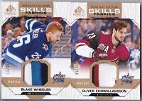 18-19 SP Game Used Blake Wheeler /35 PATCH All-Star Skills Winnipeg Jets 2018