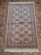Hand-Knotted Small Rug (30 x 50 in) Silk Highlights Tuscan Traditional Rug