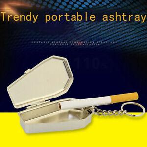 Mini Aschenbecher Taschenaschenbecher Reiseaschenbecher mit Schlüsselring