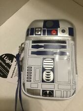 Disney Parks D-Tech Star Wars R2d2  Cell Phone & Tech Case Light Up Wristlet NEW