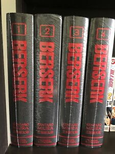 Berserk Deluxe Edition Volume 1-4 Kentaro Miura SEALED Manga English Dark Horse