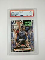 1992 Stadium Club Beam Team Shaquille O'Neal ROOKIE RC #21 PSA 9 members only
