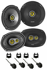 Kicker 46CSC Front + Rear Speaker Replacement Kit For 1995-2000 Dodge Stratus