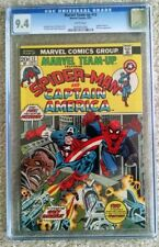 MARVEL TEAM-UP #13 CGC 9.4 SPIDER-MAN AND CAPTAIN AMERICA - NICK FURY APPEARANCE