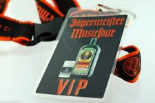 Disturbed Jaegermeister Music Tour VIP Badge Holographic Neck Lanyard Pass RARE