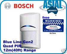 Bosch Alarm Blue Line Gen2 Quad PIR  ISC-BPQ2-W12 Motion Detector Sensors