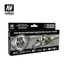 AIRBRUSH PAINTS - VALLEJO MODEL AIR - SOVIET HELICOPTERS (8 x 17ML) - 71601
