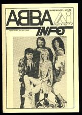 ABBA - ABBA Info - Dutch Fanclubmagazine No.17