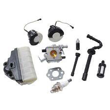 Carburetor Air Oil Filter Hose Fuel Cap for Stihl MS210 MS230 MS250