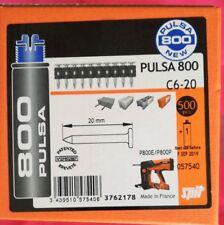 Tampons Béton pour Cloueur Pulsa 800 P Longueur 20mm SPIT