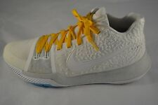Mens NIKE KYRIE IRVING 3 White Basketball Shoes Size 10