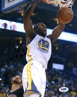 FESTUS EZELI SIGNED AUTOGRAPHED 8x10 PHOTO GOLDEN STATE WARRIORS RARE PSA/DNA