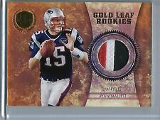 Ryan Mallett 2011 Panini Gold Standard Game Used Jersey Patch Rookie #15/25