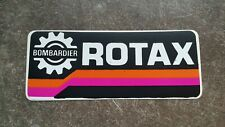 ROTAX BOMBARDIER UNPERFECT vintage NOS sticker  Autocollant Adesivo TZ OW NSR RG