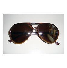 Vintage BOLLE IREX 100 Brown/Gold Mirror Men's Aviator Sunglasses