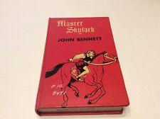 MASTER SKYLARK _JOHN BENNETT A Story Of Shakespear's Time Thrushwood Book 1924