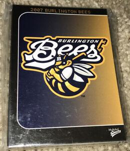 2007 MultiAd Burlington Bees Complete Card Set Kansas City Royals