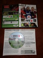 FIFA 2012 EA Sports PC Italian cd rom box instructions in Italian