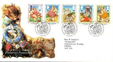 1994 Sg 1815/19 Picture Postcards First Day Cover