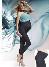 Fashion Maternity Trousers Maternity Leggings Denim Indigo Jeans Stretch Nadia